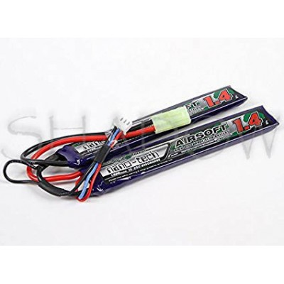 Turnigy nano-tech 1400 mAh 2S 7.4 V Li-Po Airsoft Pack 15-25C