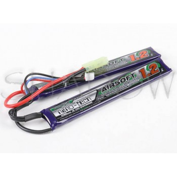 Turnigy nano-tech 1200 mAh 2S 7.4 V Li-Po Airsoft Pack 15-25C