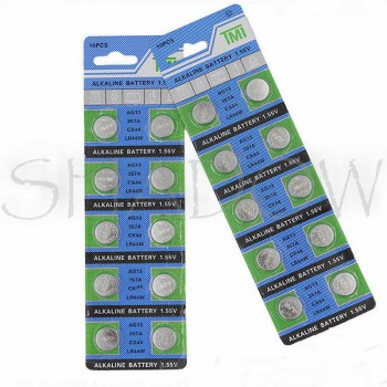 Battery AG13 1.55 V - 50 pcs